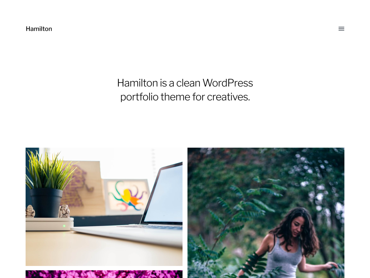 Download Hamilton 1.18 – Free WordPress Theme