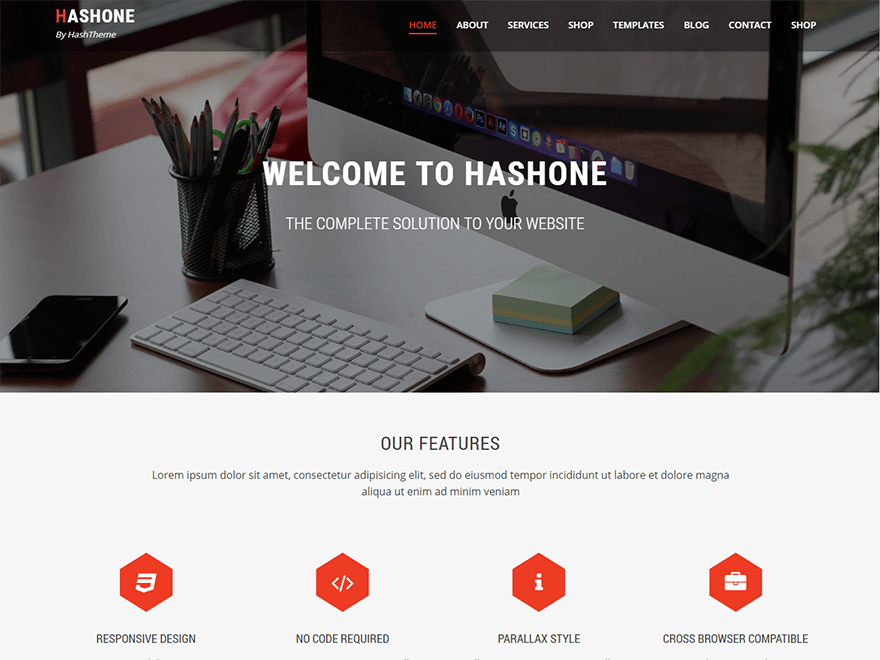 Download HashOne 1.2.4 – Free WordPress Theme