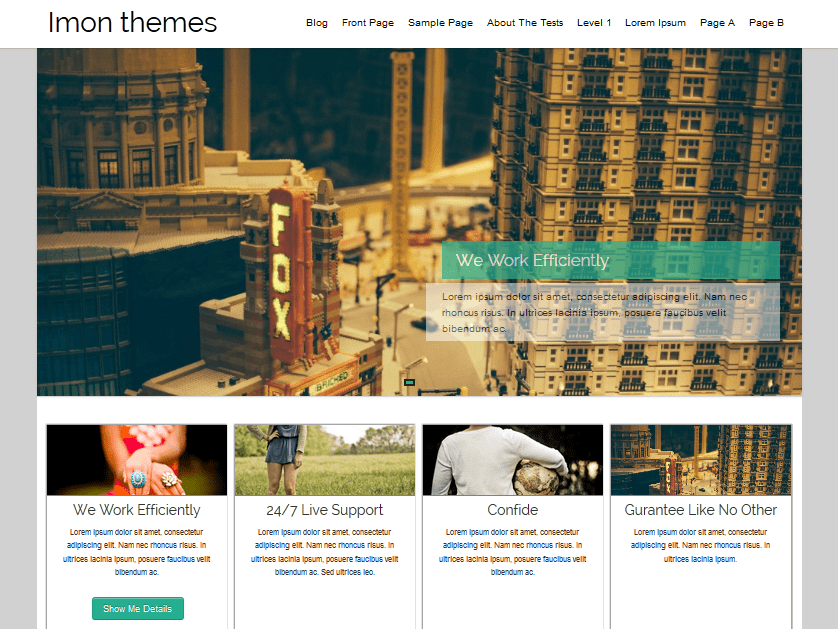 Download Hathor 4.4 – Free WordPress Theme
