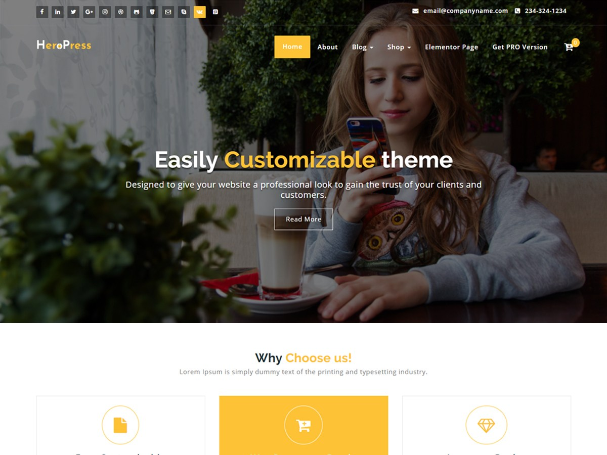 Download HeroPress 1.1.28 – Free WordPress Theme
