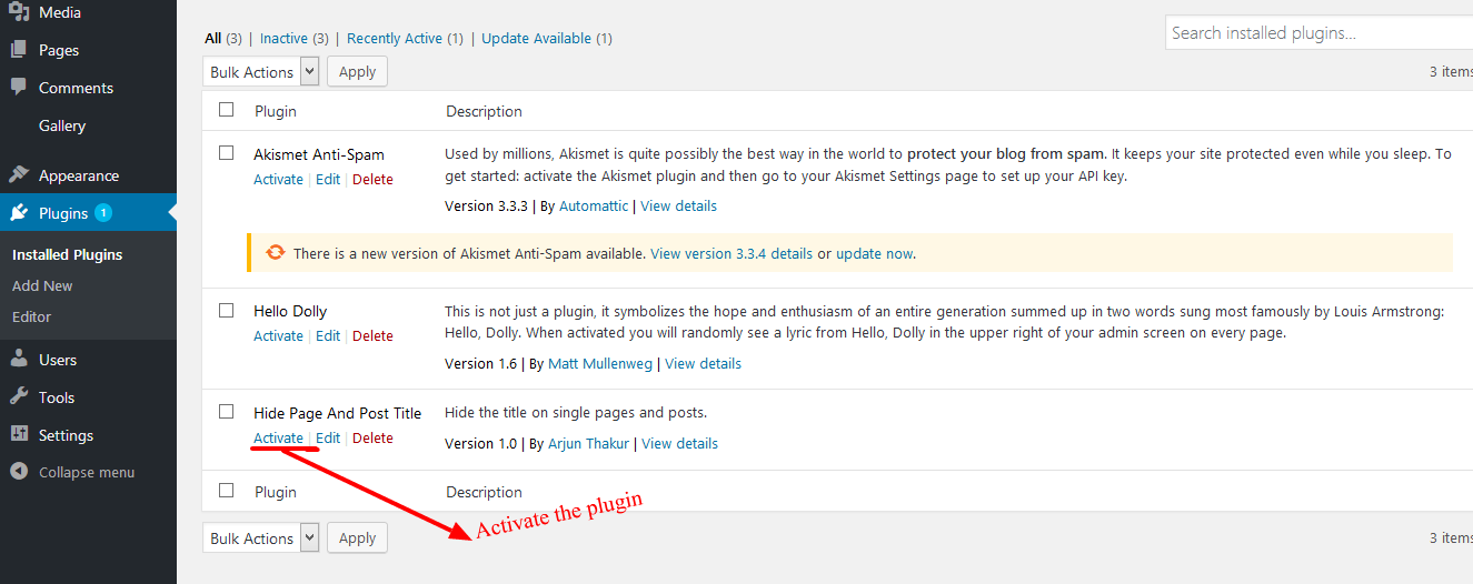 Download Hide Page And Post Title 1.2 – Free WordPress Plugin