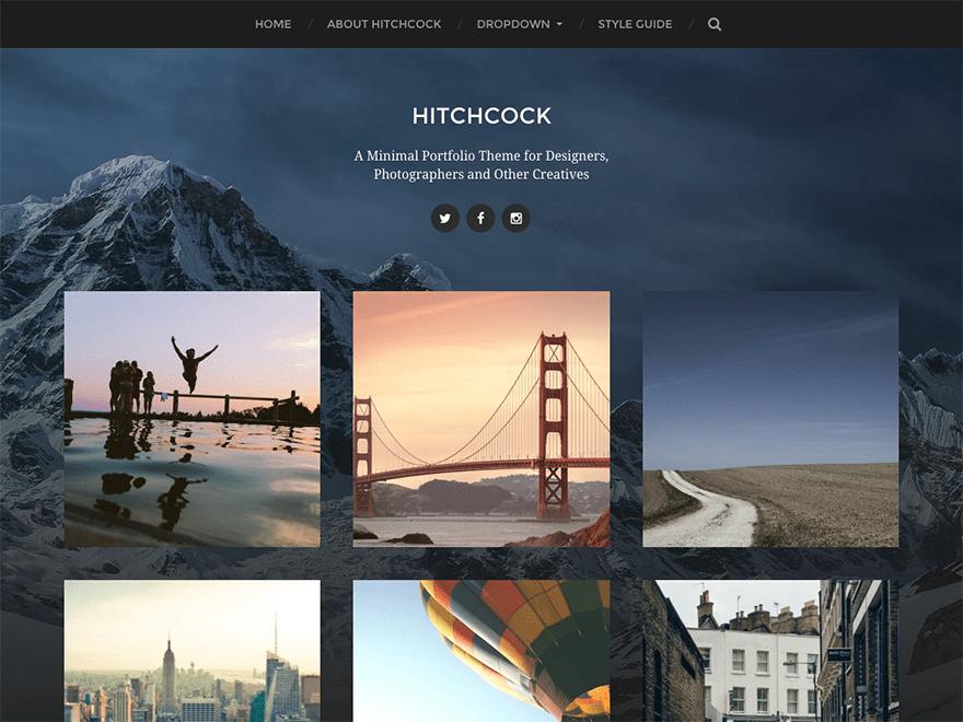 Download Hitchcock 1.13 – Free WordPress Theme