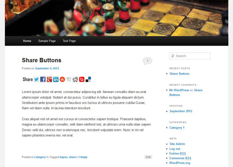 Download Hupso Share Buttons for Twitter, Facebook & Google+ 4.2.0 – Free WordPress Plugin