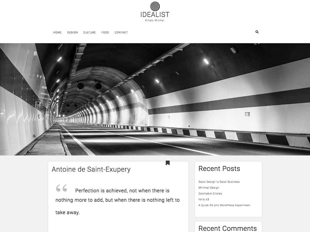 Download Idealist 1.1.5 – Free WordPress Theme