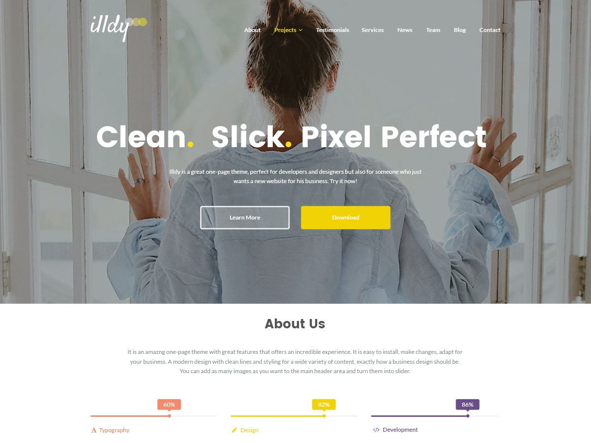 Download Illdy 2.1.1 – Free WordPress Theme