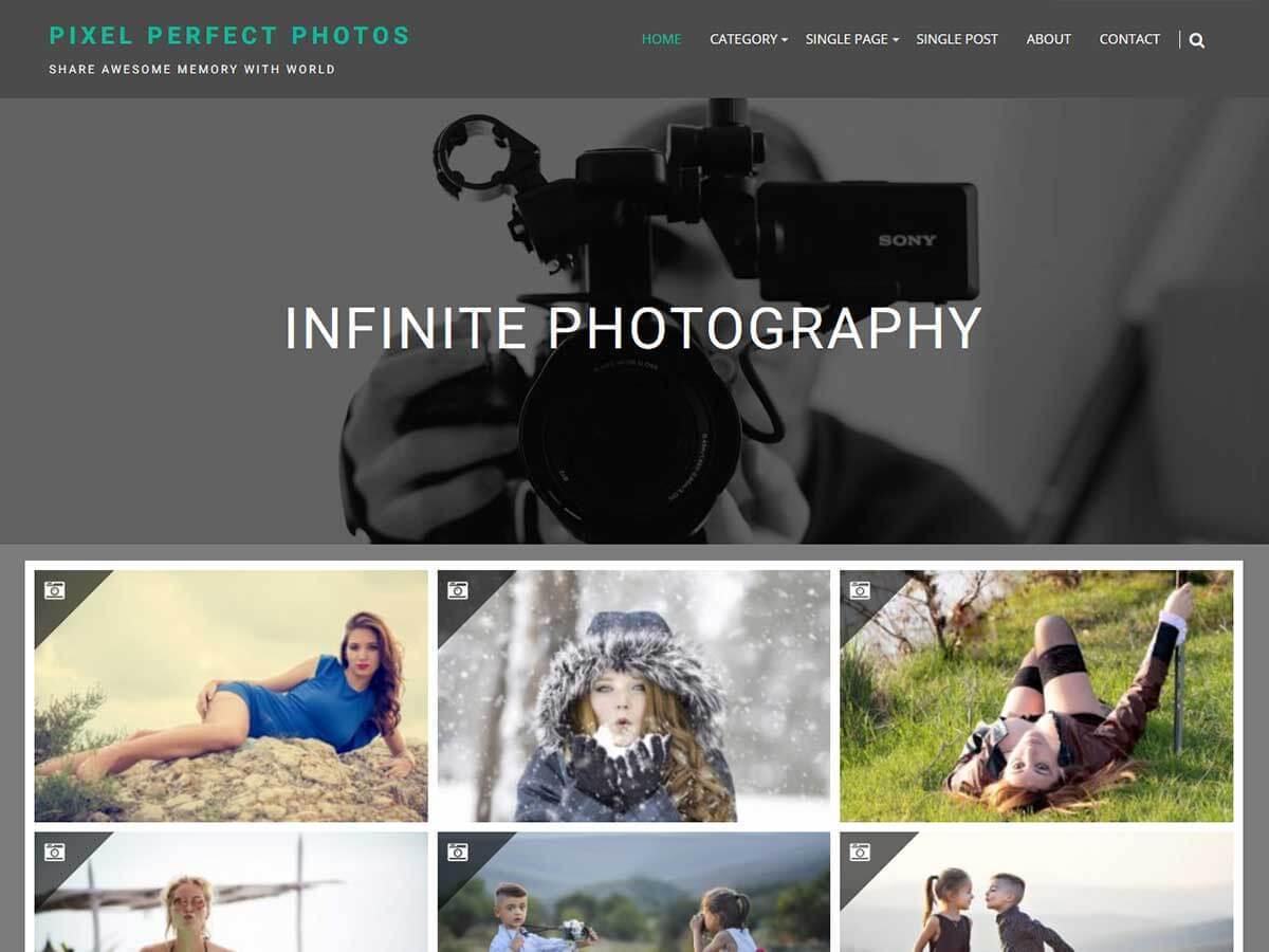Download Infinite Photography 1.2.1 – Free WordPress Theme