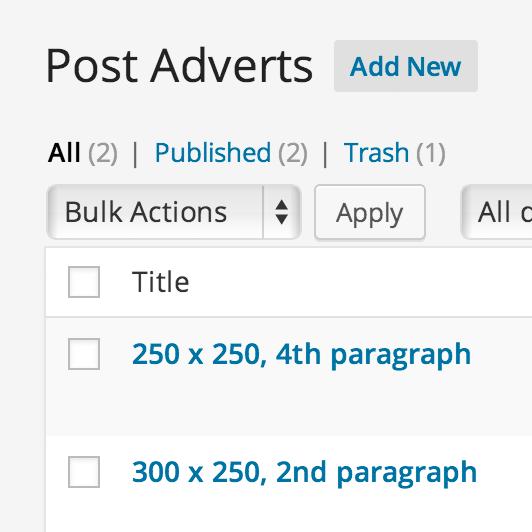 Download Insert Post Ads 1.3.2 – Free WordPress Plugin