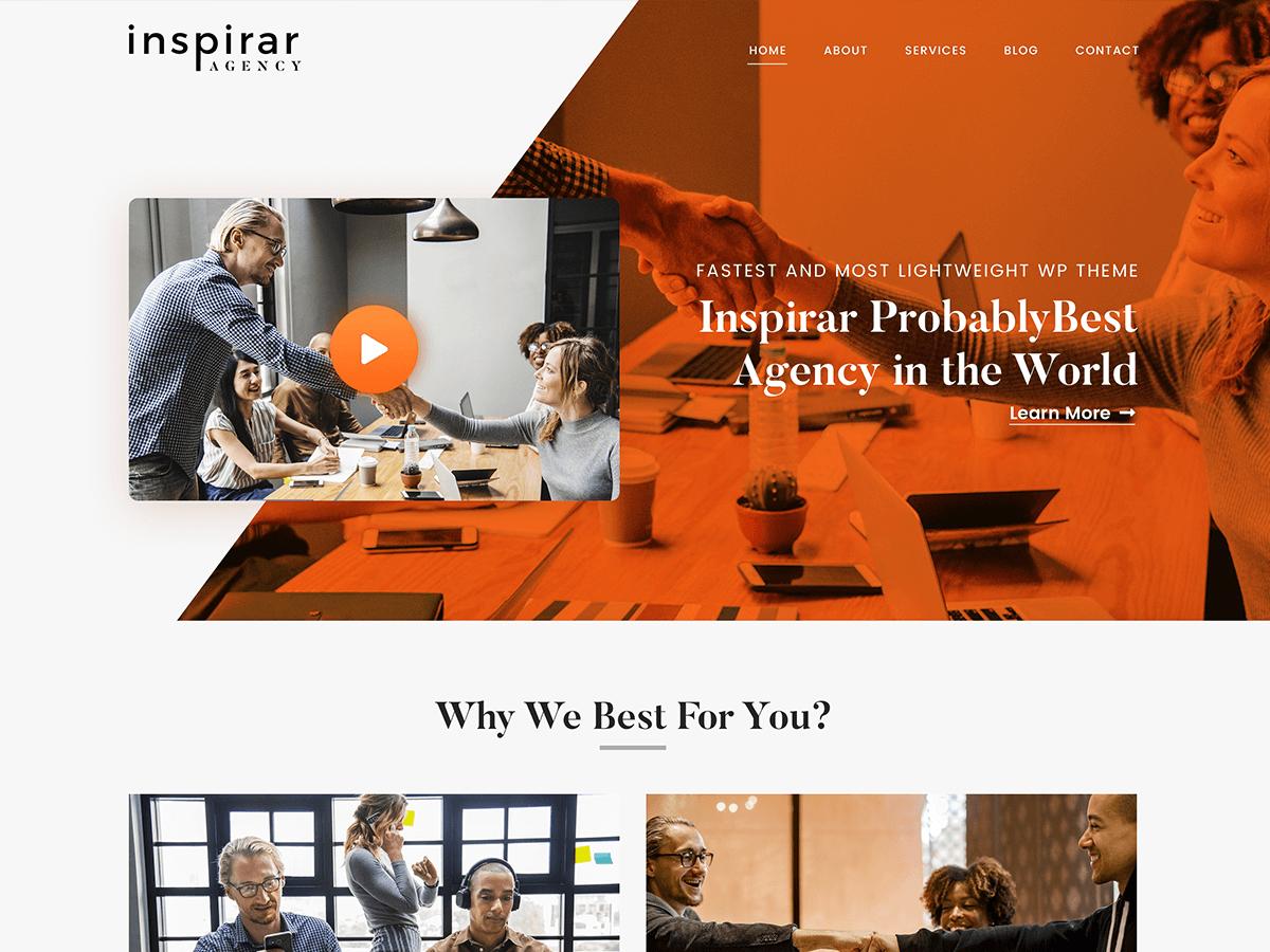 Download Inspirar 1.1.4 – Free WordPress Theme