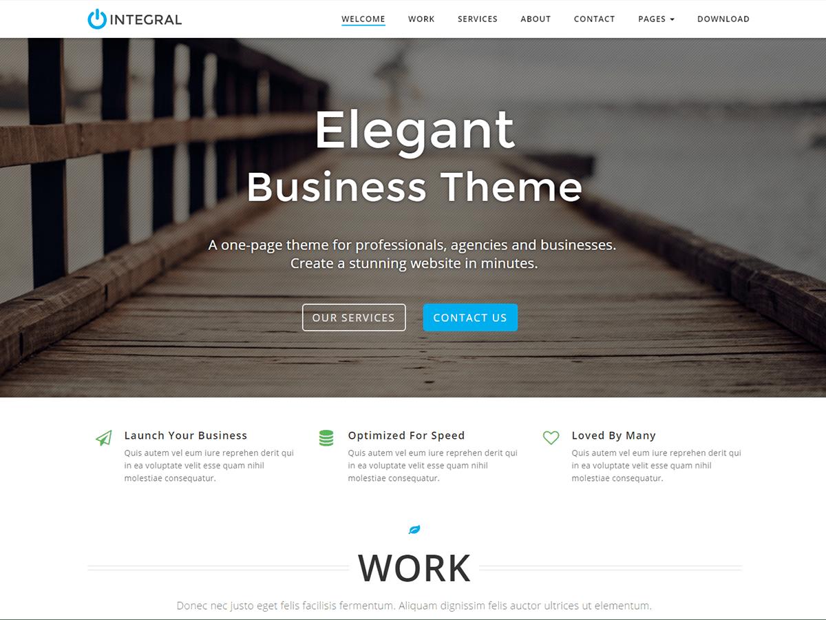 Download Integral 1.4.3.7 – Free WordPress Theme