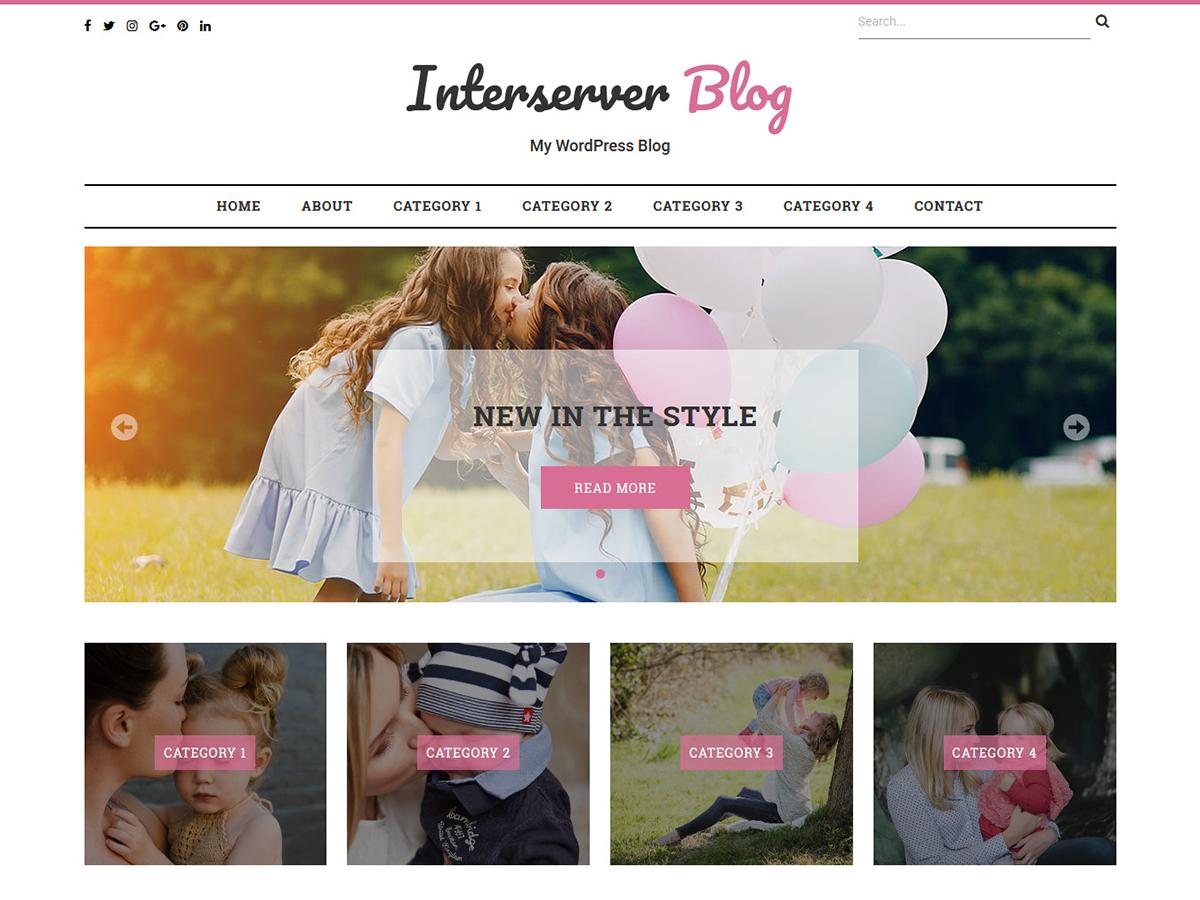 Download Interserver Blog 1.0.1 – Free WordPress Theme