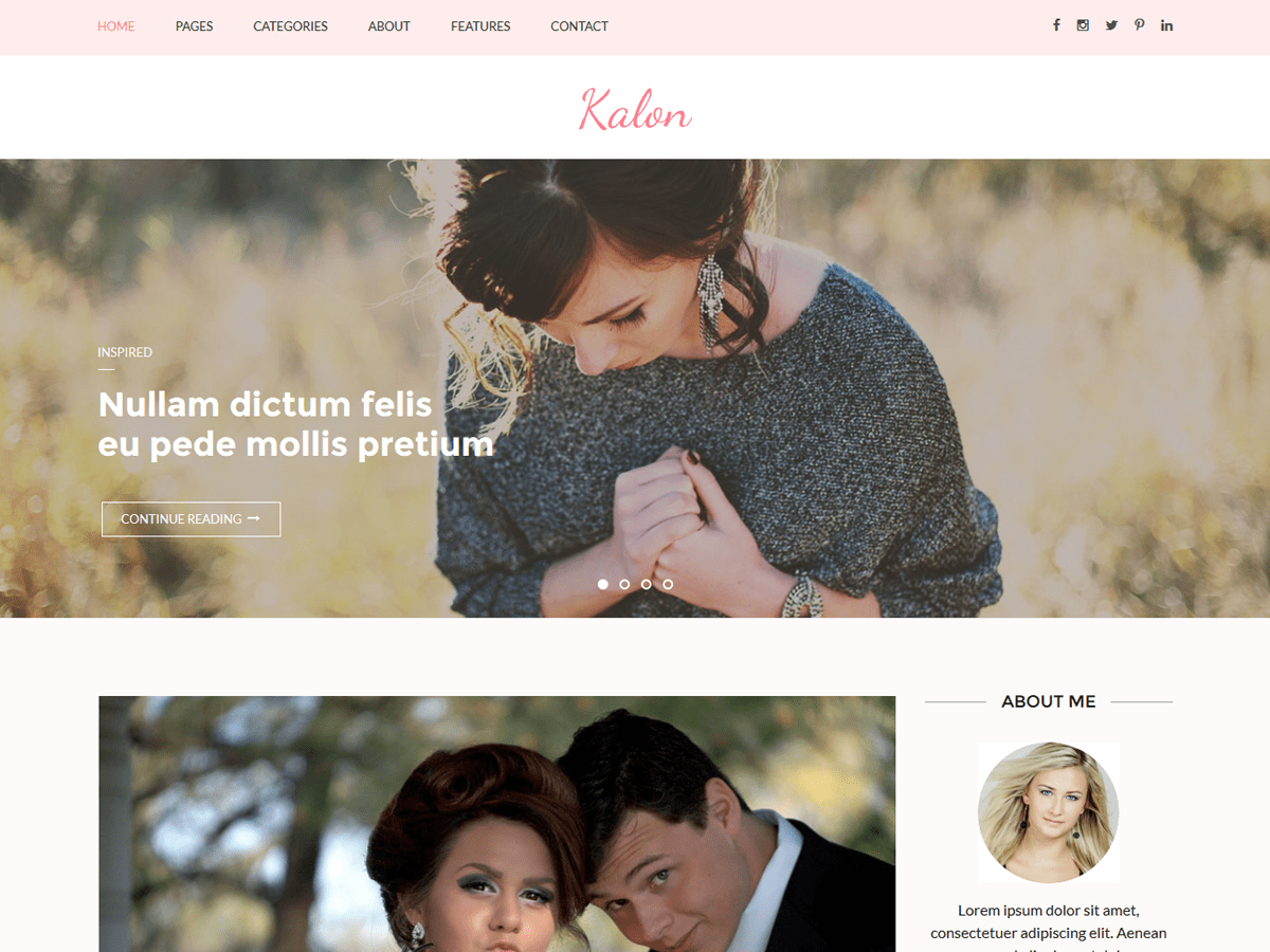 Download Kalon 1.1.6 – Free WordPress Theme