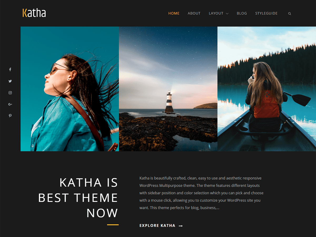 Download Katha 1.0.1 – Free WordPress Theme
