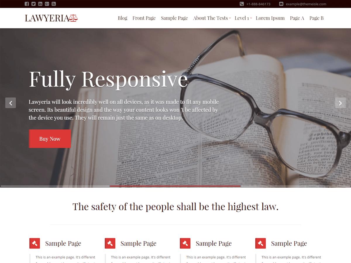 Download LawyeriaX Lite 1.1.4 – Free WordPress Theme