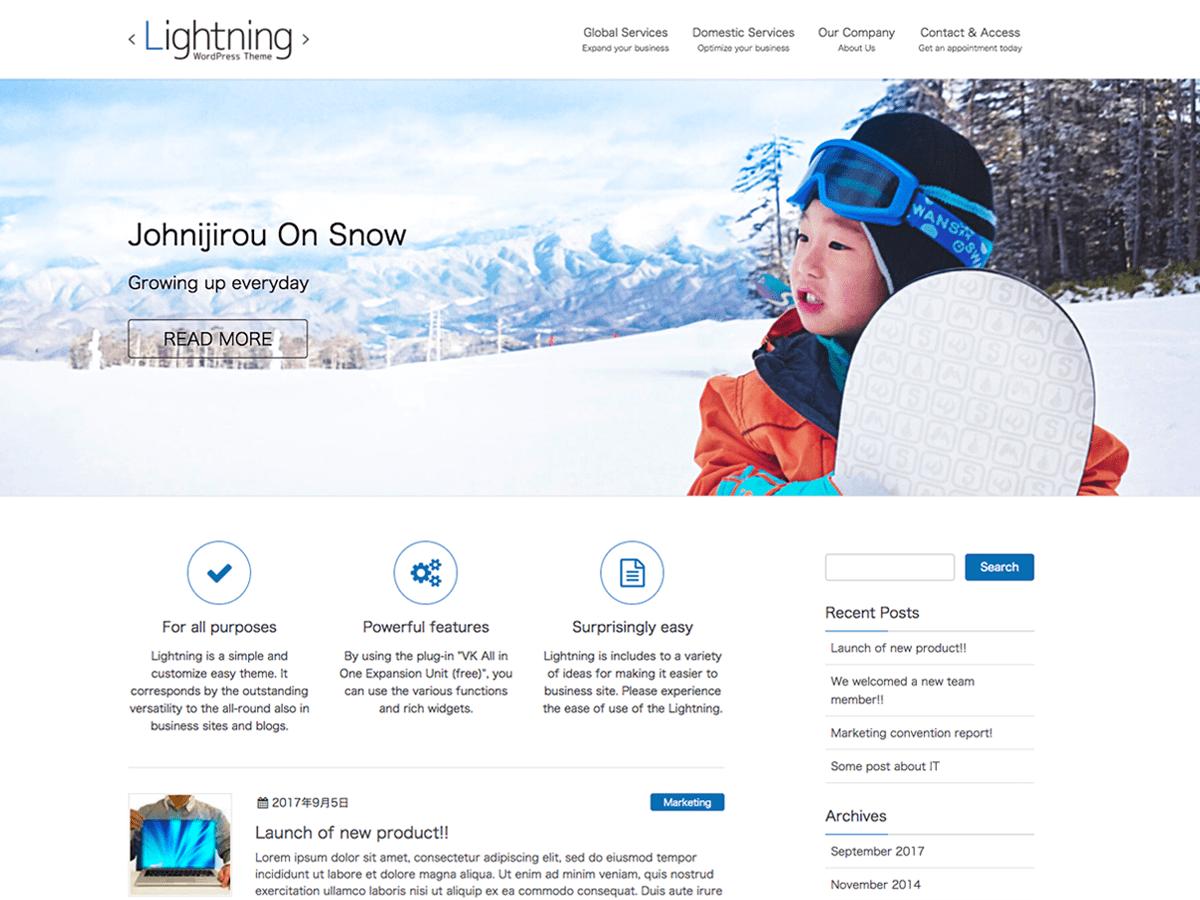 Download Lightning 6.1.2 – Free WordPress Theme
