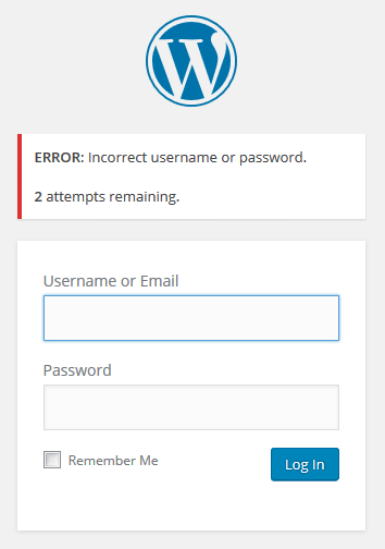 Download Limit Login Attempts Reloaded 2.7.1 – Free WordPress Plugin