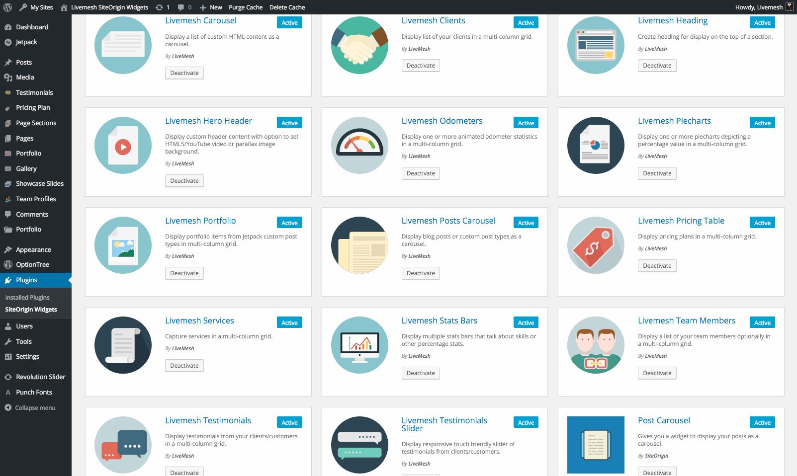 Download Livemesh SiteOrigin Widgets 2.5 – Free WordPress Plugin
