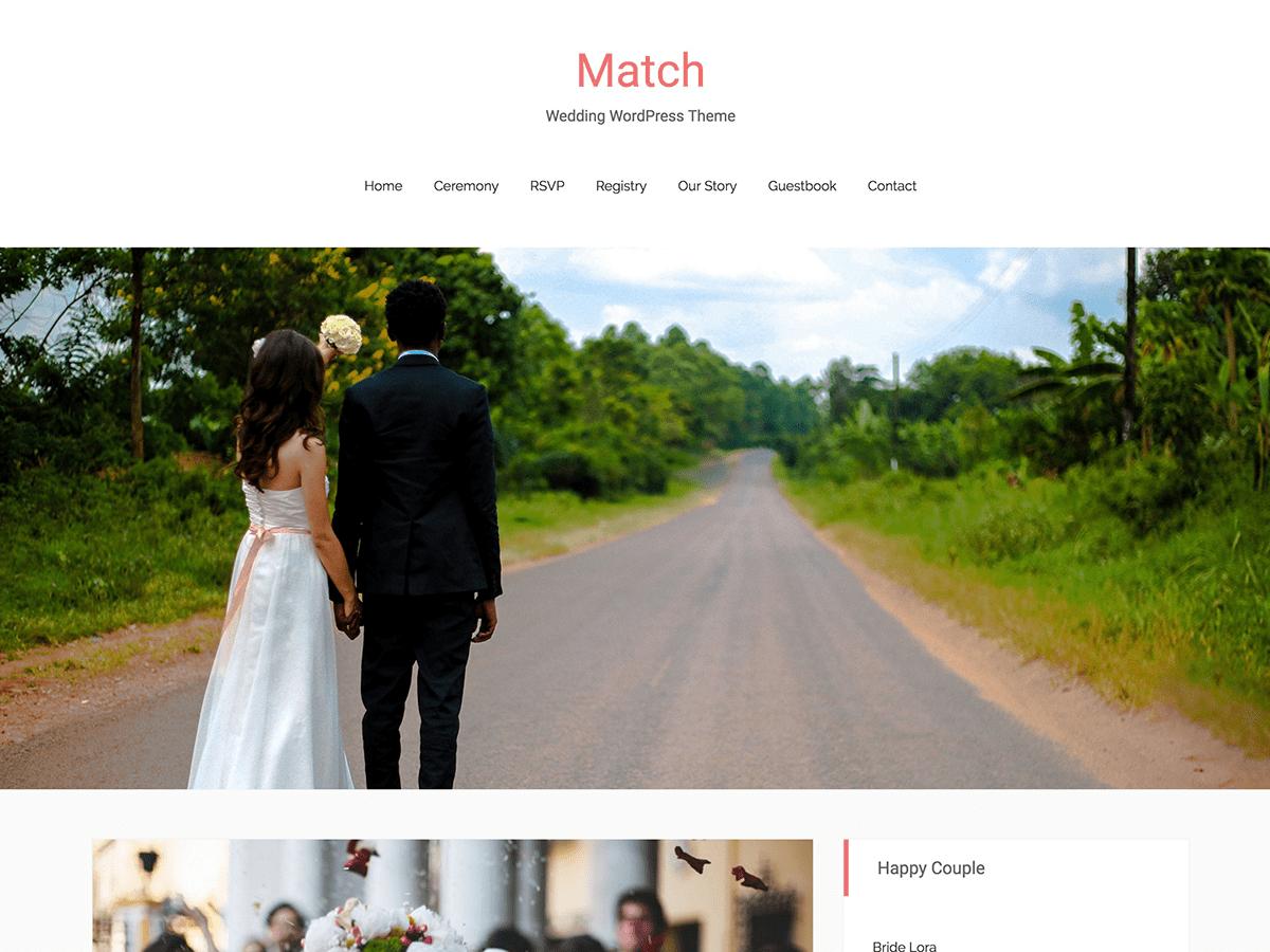 Download Match 0.1.5.4 – Free WordPress Theme