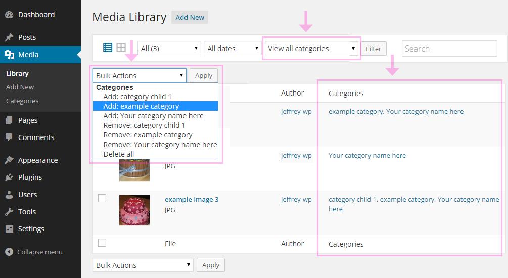 Download Media Library Categories 1.6.1 – Free WordPress Plugin