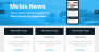 Download Melos News 1.0.3 – Free WordPress Theme