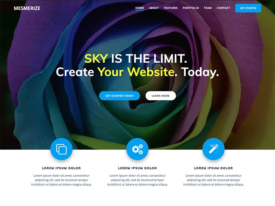 Download Mesmerize 1.6.72 – Free WordPress Theme