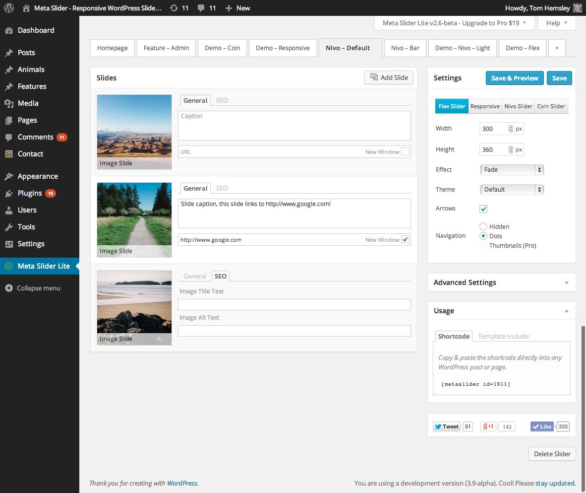 Download MetaSlider 3.9.1 – Free WordPress Plugin