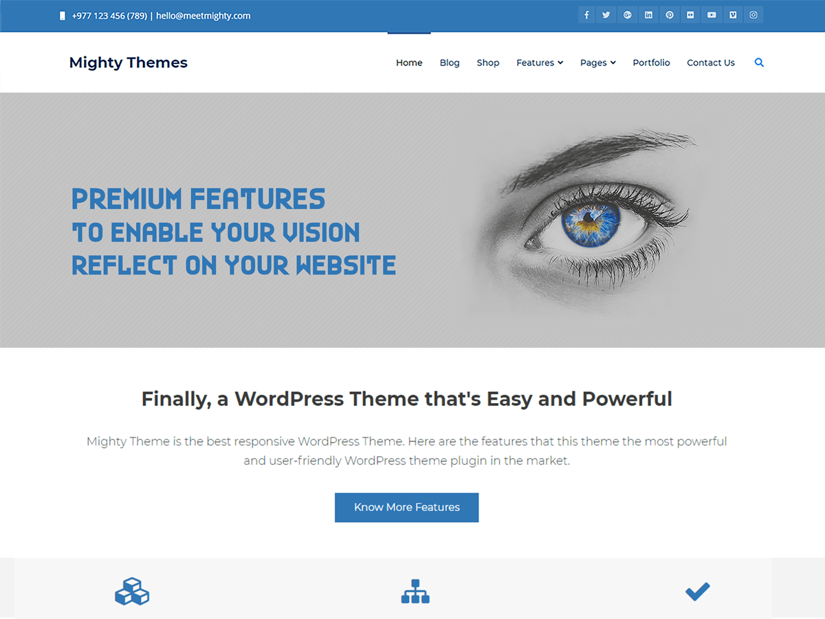 Download Mighty 1.9.1 – Free WordPress Theme