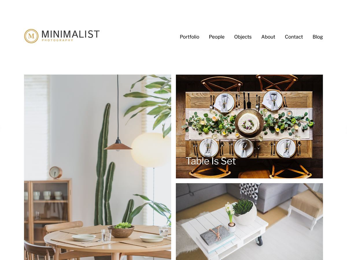 Download Minimalist Portfolio 1.0.8 – Free WordPress Theme