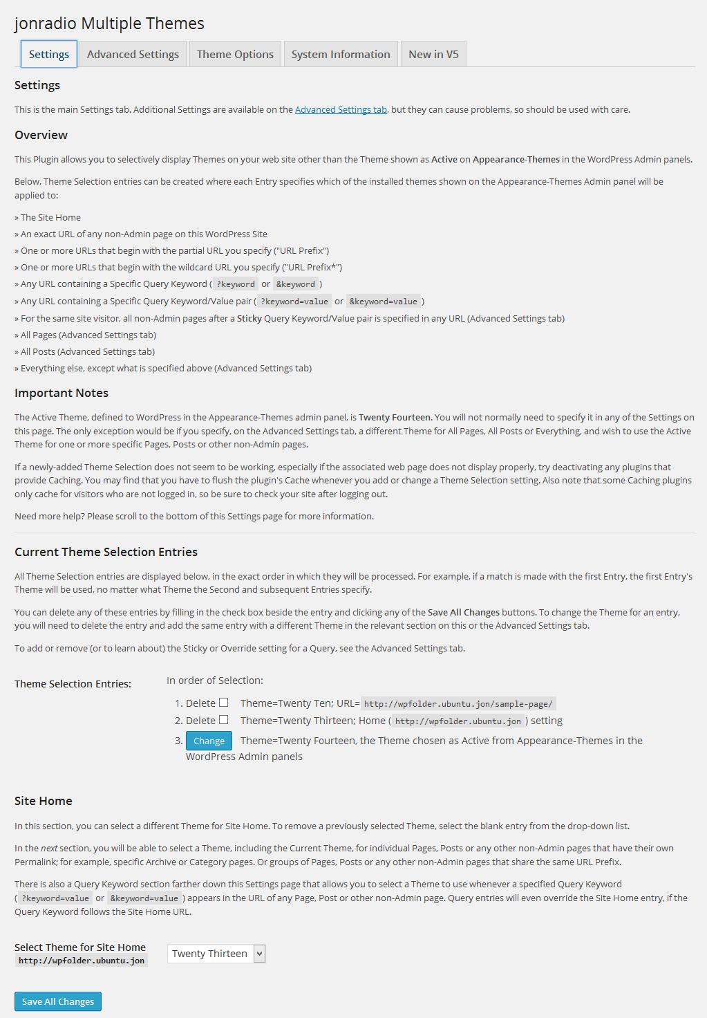 Download Multiple Themes 7.1.1 – Free WordPress Plugin
