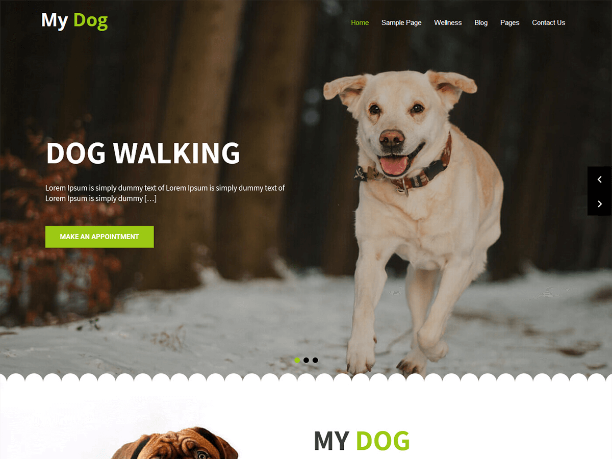 Download My Dog Lite 1.0 – Free WordPress Theme