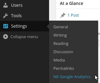 Download NK Google Analytics 1.4.16 – Free WordPress Plugin