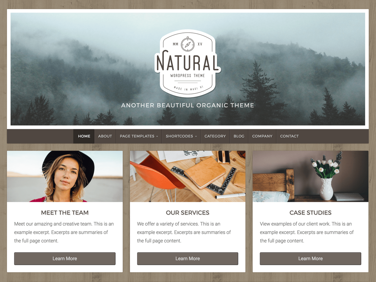 Download Natural Lite 1.3.9 – Free WordPress Theme