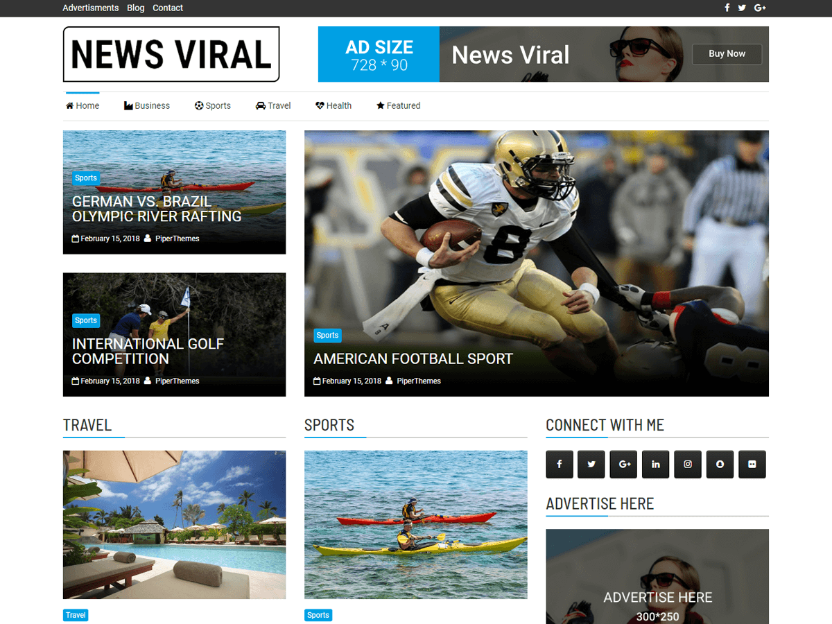 Download News Viral 1.1.4 – Free WordPress Theme