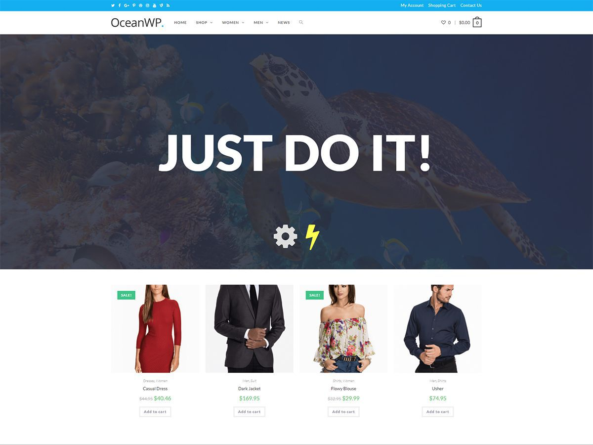 Download OceanWP 1.5.28 – Free WordPress Theme