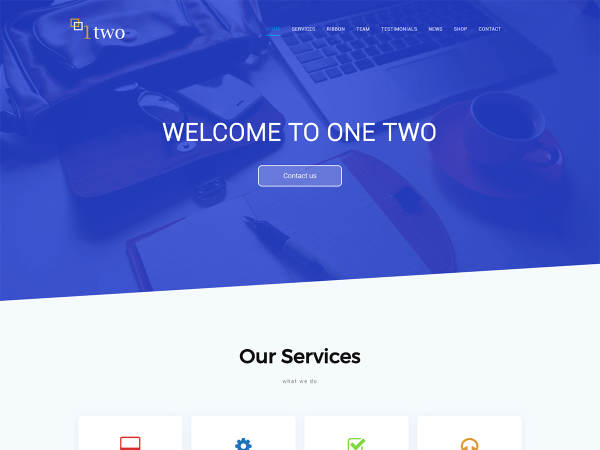 Download One Two 1.0.0 – Free WordPress Theme