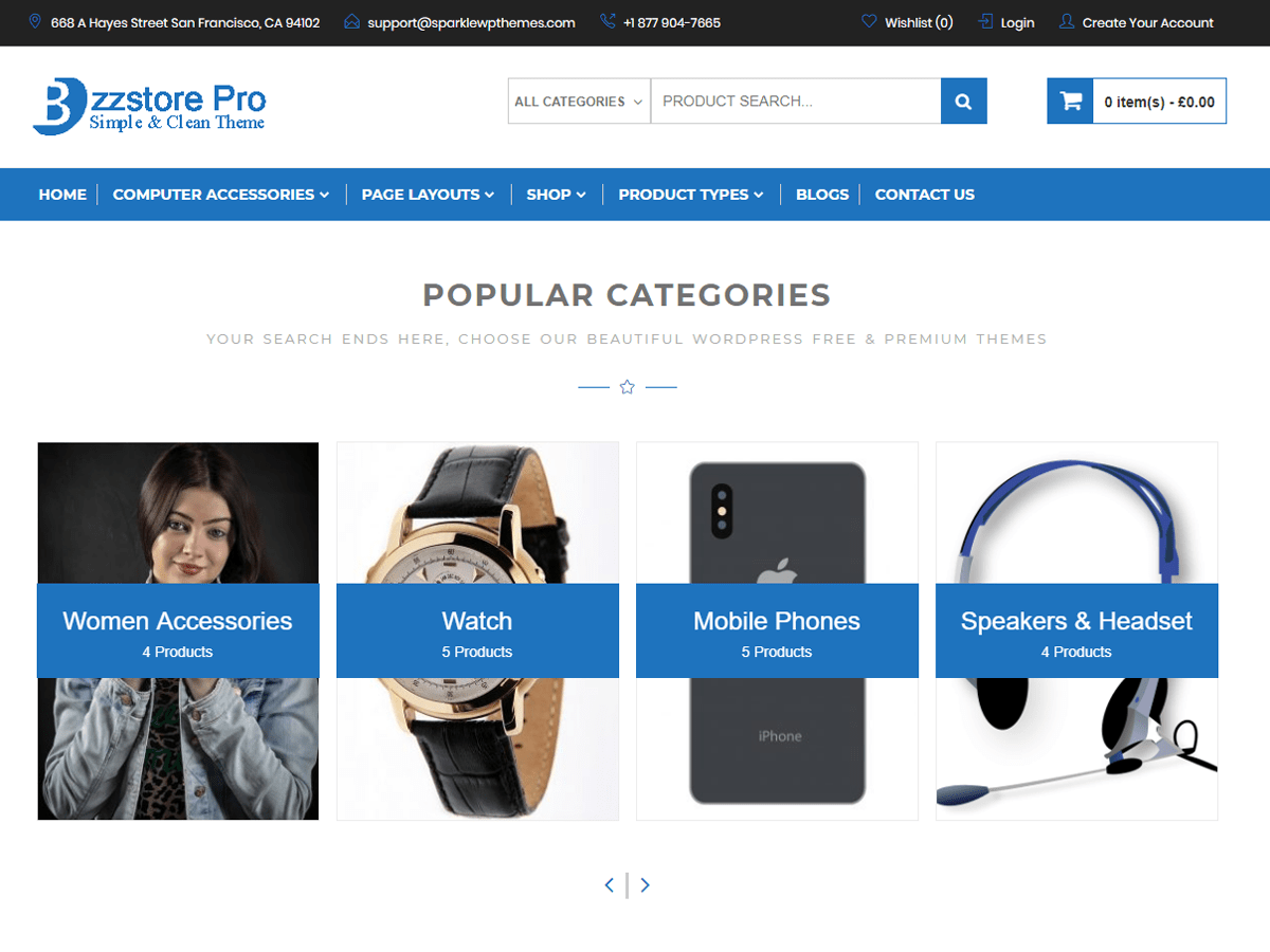 Download Online eCommerce 1.0.0 – Free WordPress Theme
