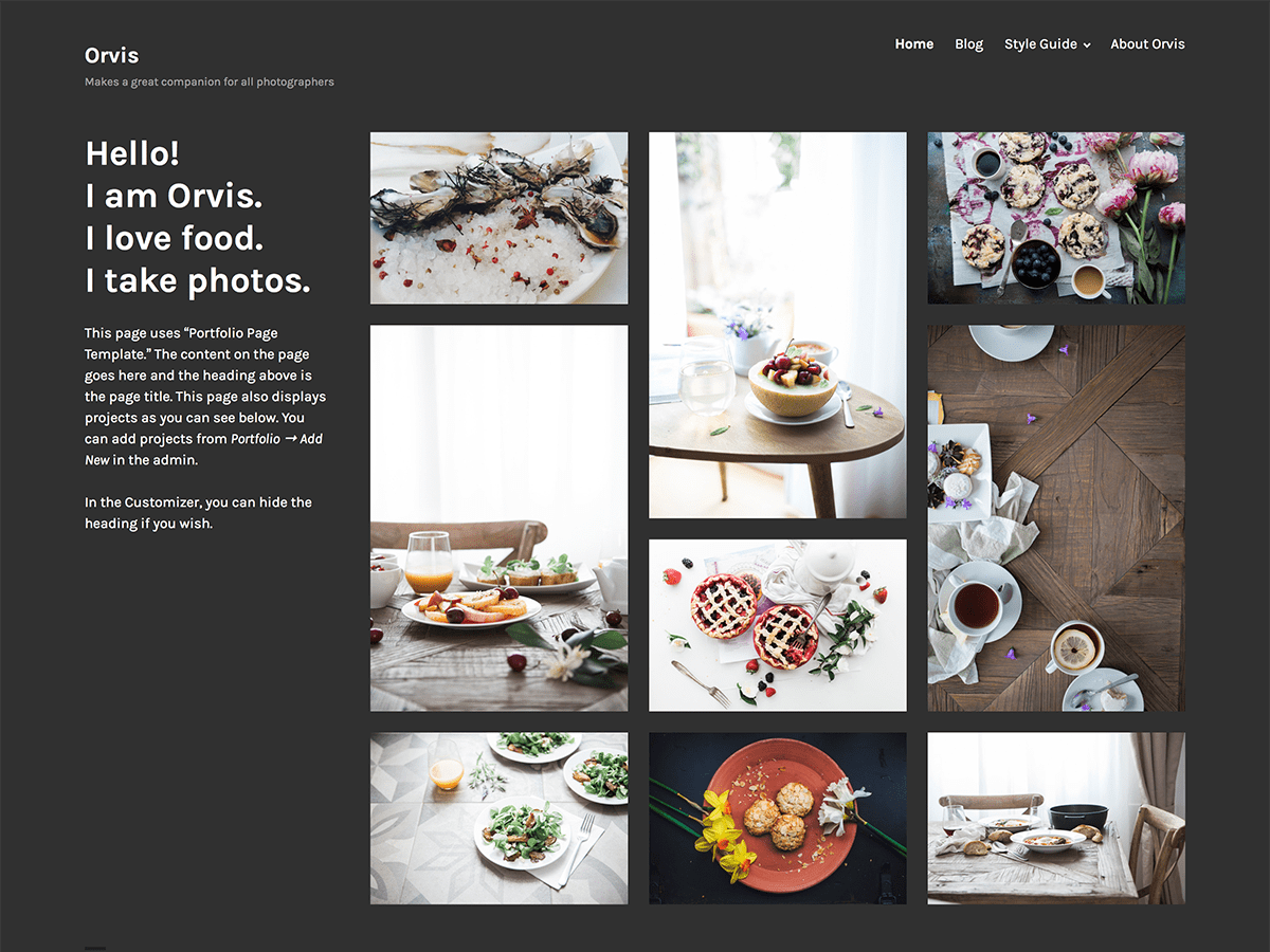 Download Orvis 1.1.3 – Free WordPress Theme