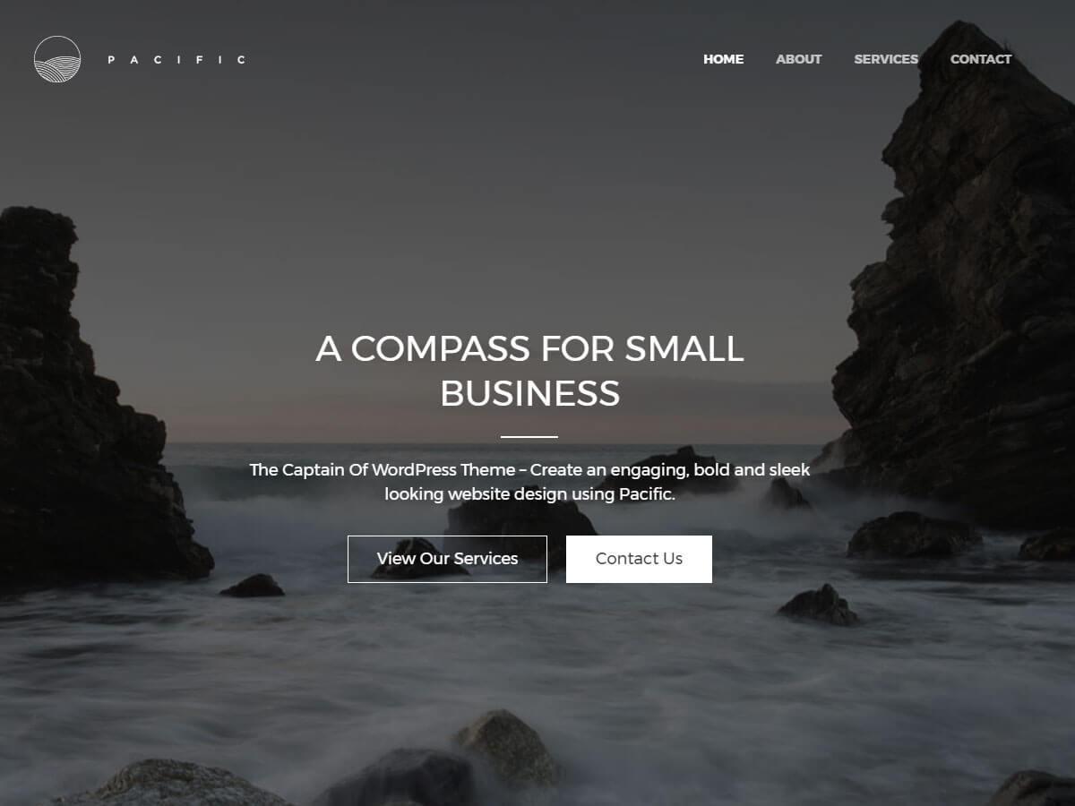 Download Pacific 1.1.9 – Free WordPress Theme