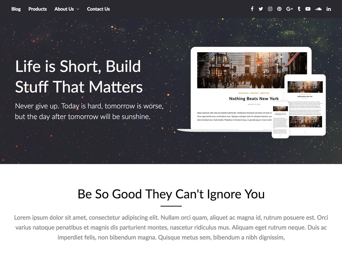 Download PageBuilderly 1.3 – Free WordPress Theme