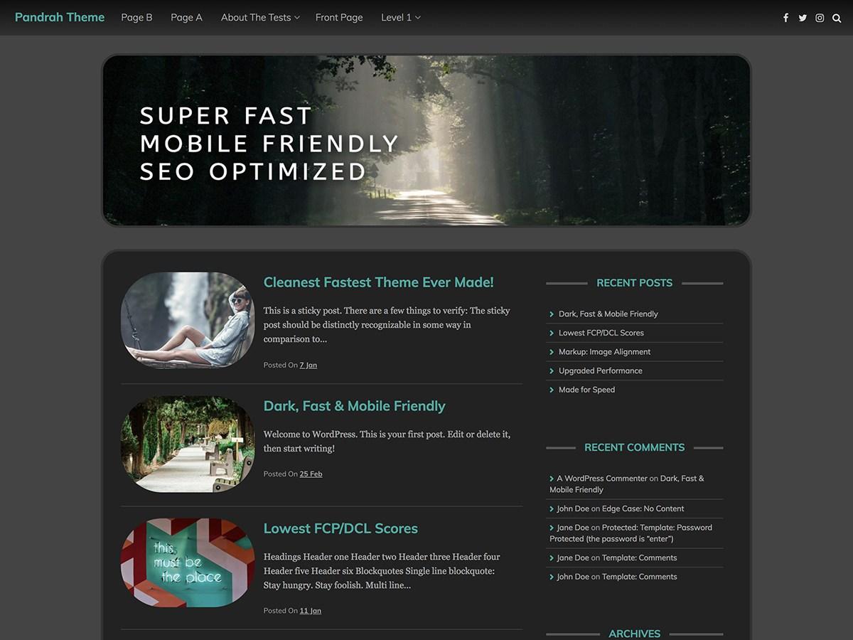 Download Pandrah 30.2 – Free WordPress Theme