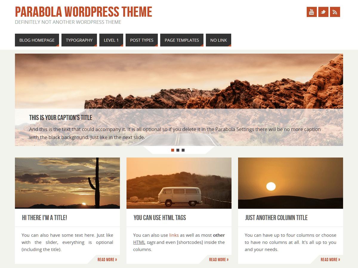 Download Parabola 2.3.0 – Free WordPress Theme