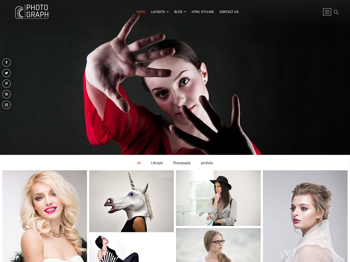 Download Photograph 1.1.5 – Free WordPress Theme
