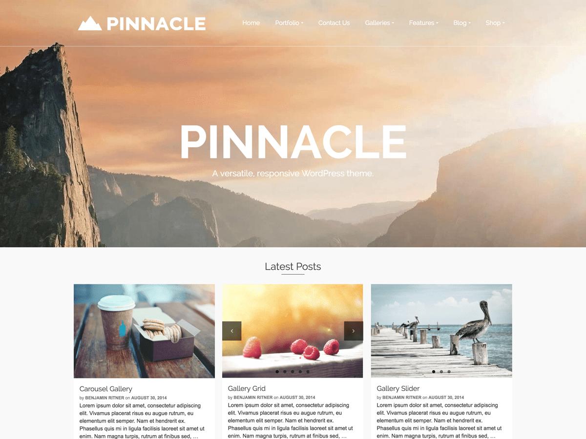 Download Pinnacle 1.6.5 – Free WordPress Theme