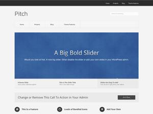 Download Pitch 1.3 – Free WordPress Theme