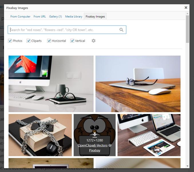 Download Pixabay Images 3.4 – Free WordPress Plugin