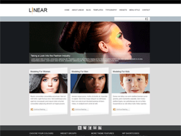 Download Pixel-Linear 1.1.3 – Free WordPress Theme