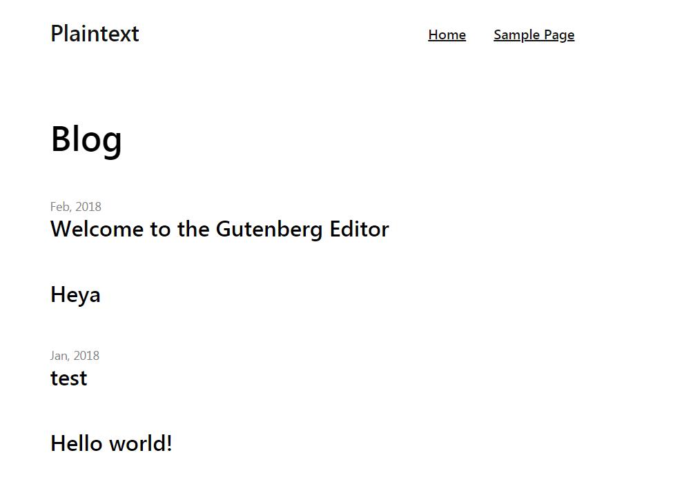 Download PlainText 1.0.2 – Free WordPress Theme