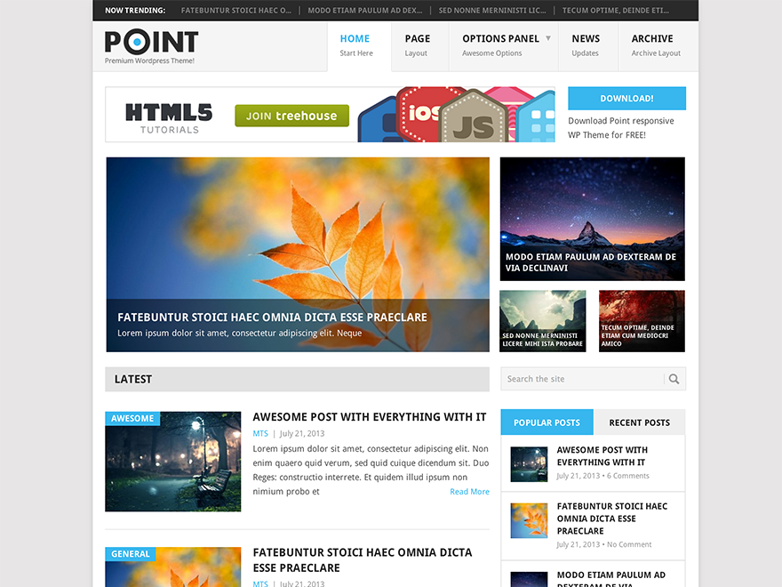 Download Point 2.0.7 – Free WordPress Theme