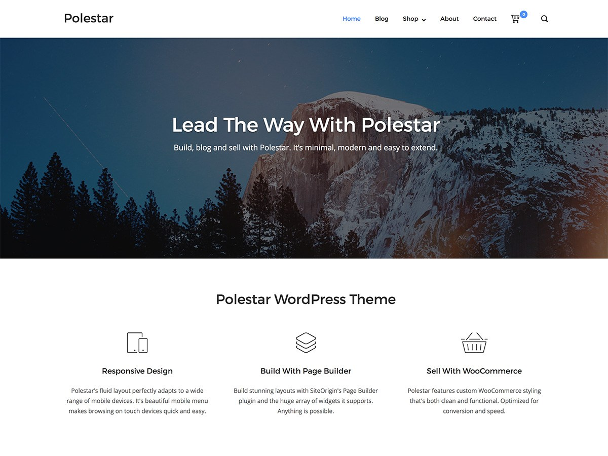 Download Polestar 1.2.10 – Free WordPress Theme