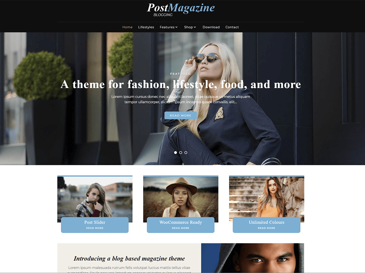 Download PostMagazine 2.0.9 – Free WordPress Theme