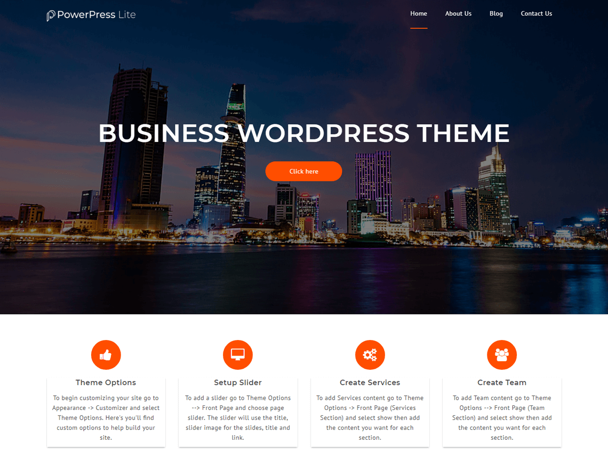 Download PowerPress Lite 1.0.7 – Free WordPress Theme